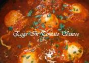 Eggs In Tomato Sauce 