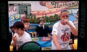 Joey Chestnut Wins Nathan's July 4th Hot Dog Eating Contest