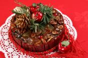 Chocolate Pecan Fruit Cake