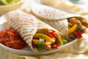 Three Meals With Chicken Fajitas