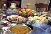 Low Cost Family Thanksgiving Dinner - Part Ii: Cooking Bread Stuffing, Maple Pots De Crme And Applesauce 