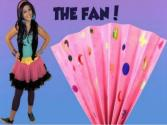 How To Make A Paper Fan - Crafts For Kids!