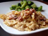 Farfalle Pasta With Turkey And Smoked Gouda Cheese