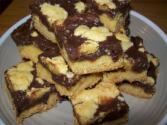 Festive Fudge Filled Bars