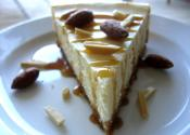 Festive Irish Cream Cheesecake