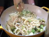 Fettucini With Brussels Sprouts