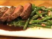 Filet Mignon With Green Beans