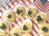 Firecracker Deviled Eggs