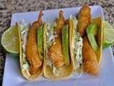 Crispy Fish Tacos / Tacos De Pescado