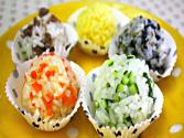 Five Color Rice Balls ( )