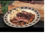 Flank Steak And Ratatouille