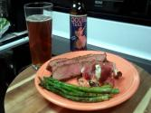 Flank Steak In A Bloody Mary Marinade Inspired By Guy Fieri