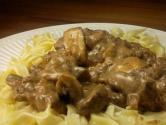 Flank Steak Stroganoff