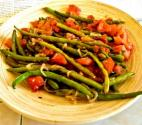 French Beans With Feta And Tomatoes
