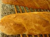 Classic French Bread With Yellow Cornmeal