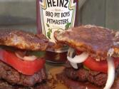 Fried Cheese Burgers