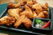Fried Chicken Wings Part 2- Deep Frying