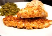 Onion Fried Chicken And Wild Rice