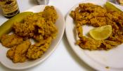 Fried Oyster Crabs