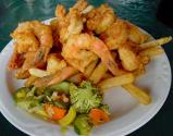 French-fried Shrimp