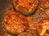 Sugar Crusted Fried Green Tomatoes
