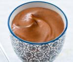 Frozen Mint Chocolate Mousse