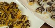 Frozen Chocolate Pineapple And Coco-nutty Bananas