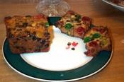 Chip Cherry Fruitcake