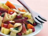 Fruit Chaat (low Calorie Healthy Snack) By Tarla Dalal