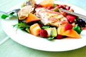 Fruit Garland Roast Chicken