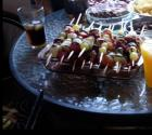 Fruit Kabobs With Catawba