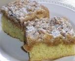 Eggless Crumb Cake