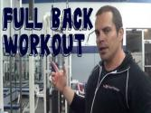Full Back Workout Routine