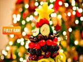 Fully Raw Edible Christmas Tree