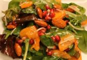 Persimmon Salad With Moroccan Sweet Vinaigrette