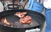 Easy Barbecued Whole Game Hens