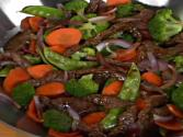 Garlic-ginger Beef Stir-fry 