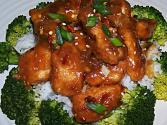 Oven Fried General Tso&#039;s Chicken