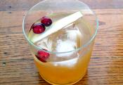 Gin Daisy With Grenadine Syrup