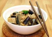 Eggplants With Coconut Milk And Shrimp Paste