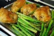 Ginger Chicken And Asparagus