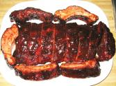 Chinese Hoisin Glazed Barbeque Pork Ribs