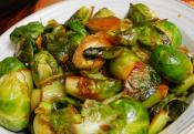 Glazed Brussels Sprouts And Chestnuts