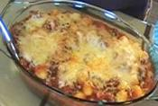 Gnocchi Casserole In Beef Sauce