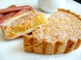 Baked Golden Syrup Lemon Tarts