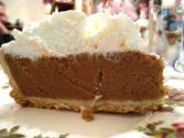 Graham Cracker Butterscotch Pie