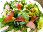 Arugula, Grapefruit, And Goat Cheese Salad