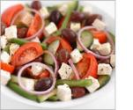 Greek Salad With Wine Vinegar