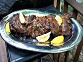 Grilled Leg Of Lamb - Greek Style