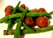 Garlic Green Beans And Tomato
